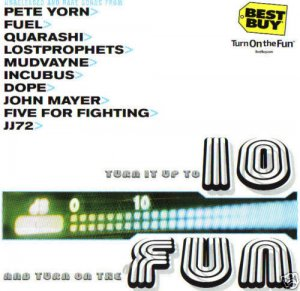 Turn It Up To 10 And Turn On The Fun (CD, 2001) BEST BUY Promo Rare Tracks, NEW