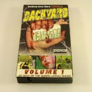 Backyard Fight Clubs Volume 1 (VHS, 2001) Bloody Amateur Wrestling Video Movie