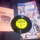"DumDum TV / Wayne Butane - Eerie Themes #5 Split 7"" Vinyl Single Experimental NM"
