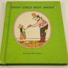 Gypsy Girl's Best Shoes by Anne Rockwell (1966, Hardcover) Vintage Children Book