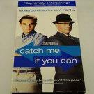 Catch Me If You Can (VHS, 2003) Leonardo DiCaprio, Tom Hanks, Steven Spielberg