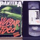 Pantera: Vulgar Video (VHS, 1993) Heavy Metal Music Videos Dimebag Darrell