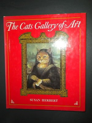 The Cats Gallery of Art by Susan Herbert (1990, Hardcover w/ Dust Jacket)