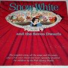 "Walt Disney's SNOW WHITE, Vintage 1962 Disneyland Records 12"" Vinyl LP ST-3906"