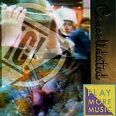 Play More Music by Consolidated (CD, 1992 IRS) Liberal Vegan Activists DISC ONLY