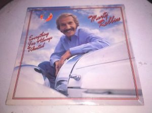 """Marty Robbins - Everything I've Ever Wanted 1981 Vintage Vinyl 12"""" LP NM/VG"""