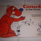 Clifford at the Circus by Normal Bridwell TW3910 Vintage Children's Picture Book