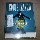 """Eddie Izzard """"Glorious"""" Live Comedy Album RARE UK IMPORT 2 Audio Cassette Tapes"""