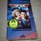 Top Gun (VHS, 1996) Tom Cruise and Tony Scott Paramount Air Force Pilot Movie