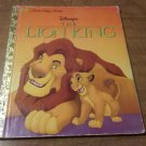 Disney's The Lion King - A Little Golden Book Hardcover Children's Book