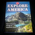 AAA Explore America: Tours of Discovery, Beautiful Hardcover Map / Photographs