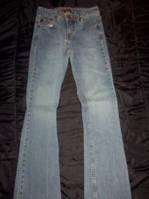 LEI Blue Jeans Boot Cut Denim Pants, Women's Juniors Size 3, STYLE 89083 L.E.I.