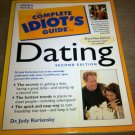 Complete Idiot's Guide to Dating by Dr. Judy Kuriansky (Paperback) Relationship
