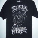 """DCMA Collective """"Hypnotise Minds"""" Grim Reaper Black T-Shirt, Men's Size Large L"""