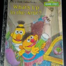 Sesame Street: What's up in the Attic? Little Golden Book Vintage 1987 Hardcover