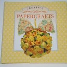 Little Book of Creative Papercrafts by C. L. Books (1995, Hardcover) Paper Craft