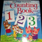 Richard Scarry's Best Counting Book Ever, Richard Scarry Book (1975, Hardcover)