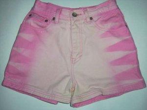 REVOLT Jeans Co, Cute Pink Glitter Shorts, 100% Cotton, Women's Regular Size 14