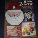 Holiday Bazaar, Leisure Arts Xmas Needlecraft Crochet Pattern Book, Leaflet 778