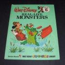 Real-Life Monsters - Walt Disney Library Volume 6 (1983, Vintage Hardcover Book)