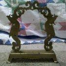 Beautiful Brass Twin Phoenix Free Birds Asian Metalwork Standing Metal Sculpture