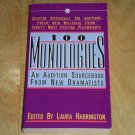 One Hundred Monologues : An Audition Sourcebook from New Dramatists (1989, Book)
