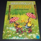 Max and Molly's Spring by Ann Garrison Greenleaf (1993, Illustrated Hardcover)