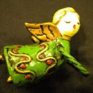 Adorable Flying Little Girl Angel Christmas Tree Ornament Decoration, Very cute!