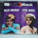 Back 2 Back by Billie Holiday & Etta James (Music CD 1998, Masters Records 1205)