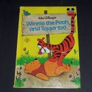 Winnie the Pooh and Tigger Too No 35 Walt Disney Wonderful World of Reading Book
