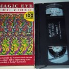 MAGIC EYE: The Video Volume 1 (VHS, 1994) 3D Images Without The Glasses Illusion