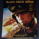 Black Hawk Down (DVD, 2003, Complete 3-DVD Set Deluxe Edition) Ewan McGregor War