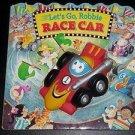 Let's Go, Robbie Race Car by Lisa Marsoli (1997 Children's Hardcover Board Book)