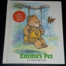 Emma's Pet by David McPhail (1995, Hardcover Children's) Weekly Reader Books