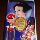 Snow White and the Seven Dwarfs (VHS, 2001, Clam Shell; Special Edition) Disney