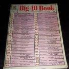 Vintage 60's Sheet Music BIG 40 BOOK Vocal Album & Guitar Chords 40 Songs Photos