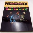 JIMI HENDRIX Smash Hits Sheet Music Songbook, Complete Lead Guitar Lyrics Chords