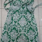 Pretty Green white dress tie back floral EUC sundress