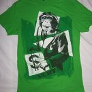Monkey Business Dollar Sign Green T-Shirt Top by Vurt, Men's Size Medium M Used
