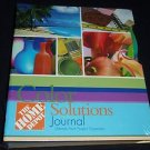 The Home Depot Color Solutions Journal Ultimate Paint Project Organizer Book NEW