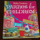 Betty Crocker's Parties for Children by Lois M. Freeman (1972, Hardcover Book)
