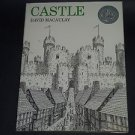 Castle by David MacAulay (1977, Illustrated Hardcover Book) Vintage 1st Edition