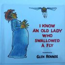 I Know an Old Lady Who Swallowed a Fly (1991, Paperback) Children's Picture Book