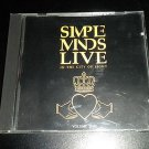Simple Minds Live In The City Of Light Volume Two 2 (Audio CD, 1987, Virgin A&M)