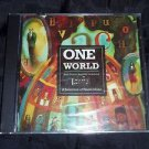 ONE WORLD - Selection of World Beat Music Compilation (Promo CD, 1999) BRAND NEW