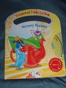 Lot of 4 Treasured Tales Read & Listen Along Children's Book & Audio CD Set NEW