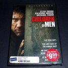 Children of Men (DVD, 2007, Anamorphic Widescreen) Science Fiction Movie Used