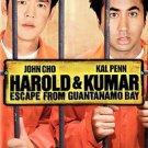 Harold & Kumar Escape from Guantanamo Bay (DVD, 2008) Comedy Movie NEW SEALED