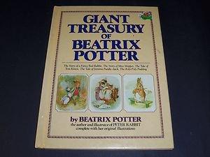 Giant Treasury of Beatrix Potter (1997, Illustrated Oversized Hardcover Book)