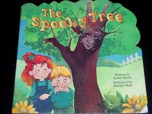 The Spooky Tree, Arthur Ruolo (1997 Illustrated Hardcover) Children's Board Book